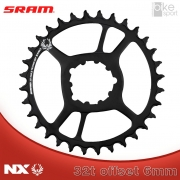 COROA SRAM NX EAGLE) DIRECT MOUNT 32T 6MM OFFSET PRETA_1