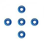 Parafuso de Coroa KIT com 5 pecas Azul