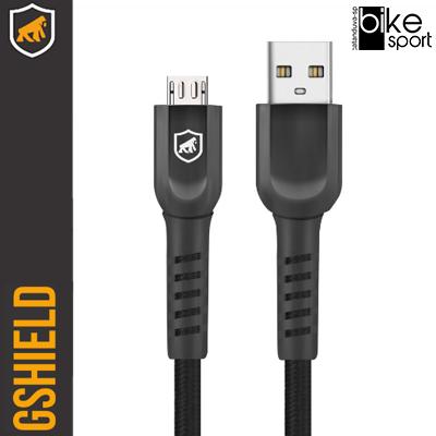 CABO DUAL SHOCK - PRETO - MICRO USB V8 - 2M