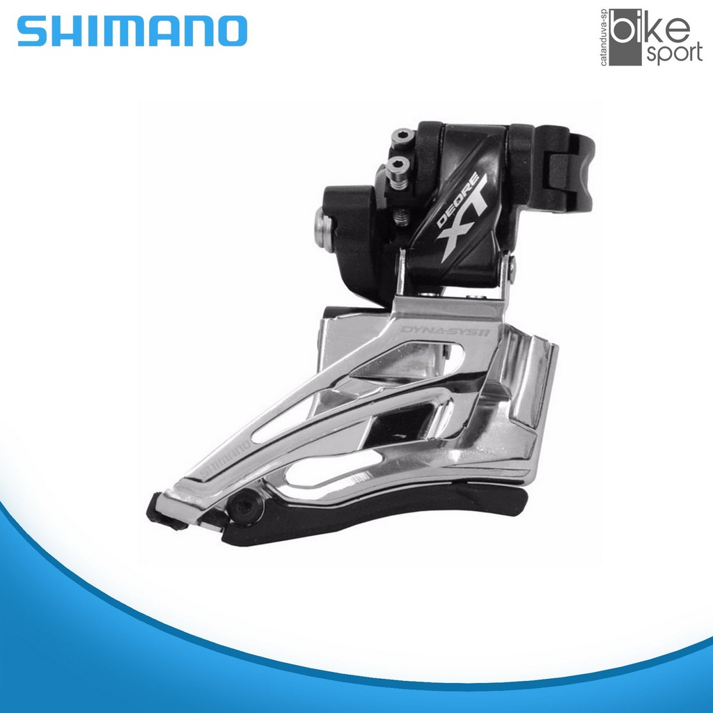 CAMBIO DIANT DEORE XT FD-M8025 DUPLO 34.9MM D SWING DUAL