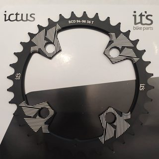 Coroa Ictus BCD 94/96 36 T Preta