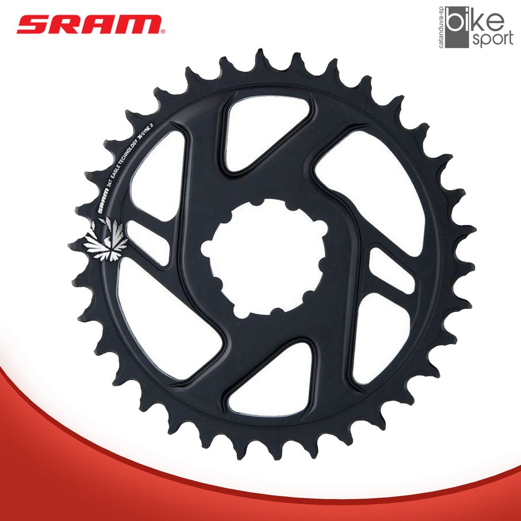 COROA SRAM GX EAGLE BOOST DIRECT MOUNT 34T 3MM OFFSET (2)