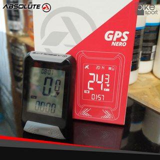 GPS ABSOLUTE NERO PRETO / CINZA