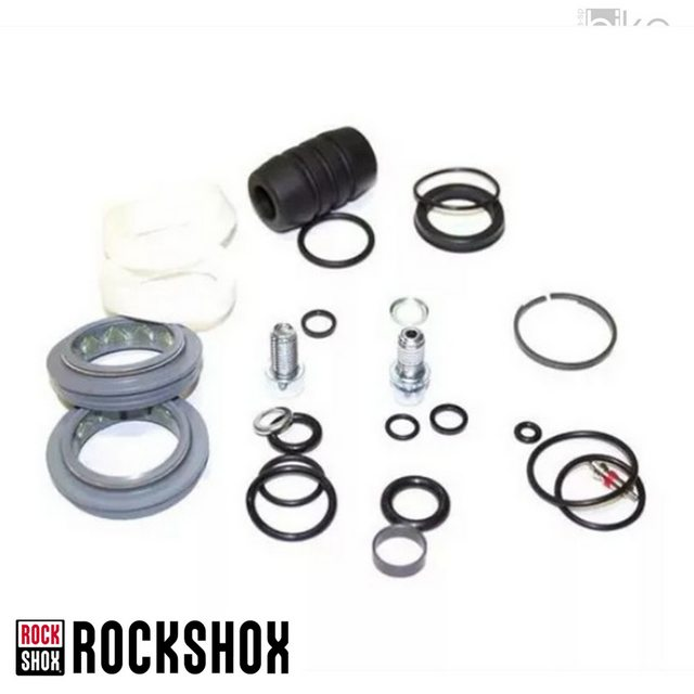 KIT DE REPARO P/ SUSPENSAO ROCK SHOX RECON SILVER (2013 SOLO-AIR COM RETENTOR AR-COMPRESSAO