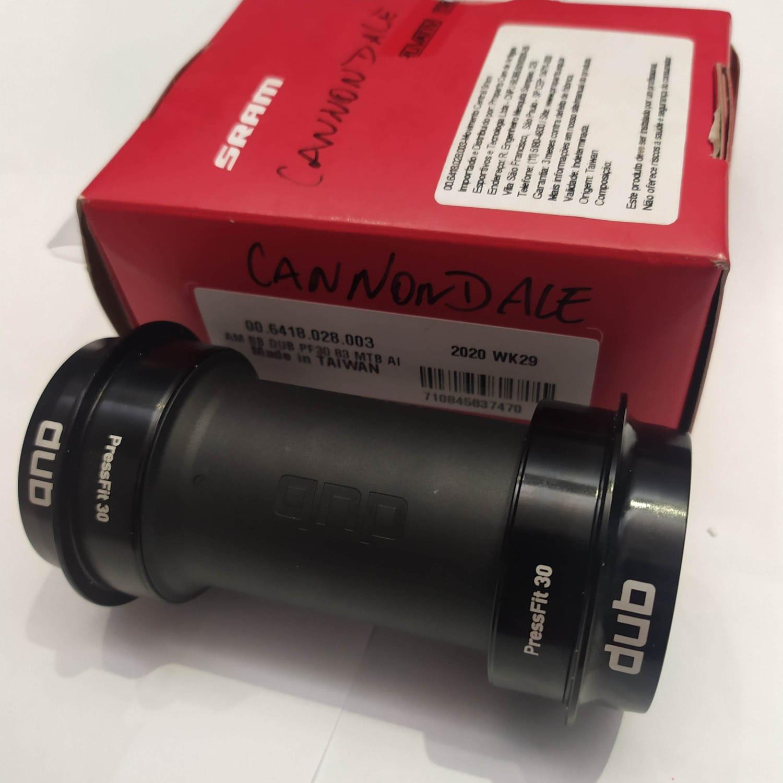 MOVIMENTO CENTRAL SRAM DUB PRESSFIT 30 MTB 83MM (CANNONDALE)