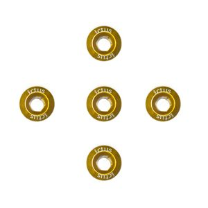 Parafuso de Coroa KIT com 5 pecas Dourado