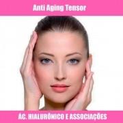 ANTI-AGING TENSOR FACIAL COM AC. HIALURÔNICO E ASSOCIADOS
