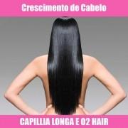 CAPILLIA LONGA E O2 HAIR - LOÇÃO CRESCIMENTO CAPILAR - 60ML