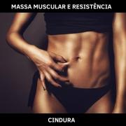 CINDURA - AUMENTO MASSA MUSCULAR E RESISTÊNCIA