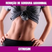 CITRUSIM - GORDURA ABDOMINAL