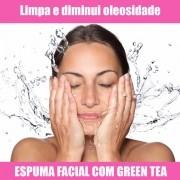 ESPUMA FACIAL COM GREEN TEA - OLEOSIDADE - 100ML