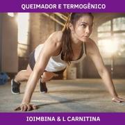IOIMBINA + L CARNITINA - QUEIMADOR E TERMOGÊNICO