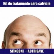 KIT CALVÍCIE  PARA HOMENS - SFÍNGONI & ACTRISAVE