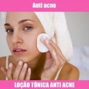 LOÇÃO TÔNICA ANTI ACNE - 100ML
