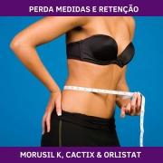 MORUSIL K, CACTIX & ORLISTAT - GERENCIADOR DE PESO E PERDA DE MEDIDAS