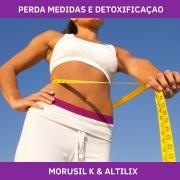 MORUSIL K E ALTILIX - REDUÇÃO DE MEDIDAS E DETOXIFICAÇÃO
