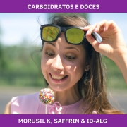 MORUSIL K, SAFFRIN & ID-ALG - CARBOIDRATOS E DOCES