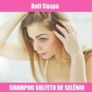 SHAMPOO SULFETO DE SELÊNIO - ANTI CASPAS - 100ML