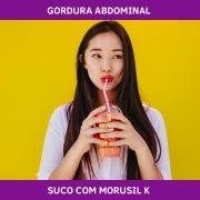 SUCO COM MORUSIL K - MEDIDAS E GORDURA ABDOMINAL