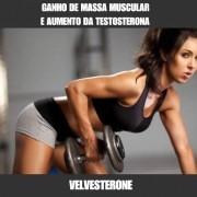 VELVESTERONE - AUMENTO DA MASSA MUSCULAR