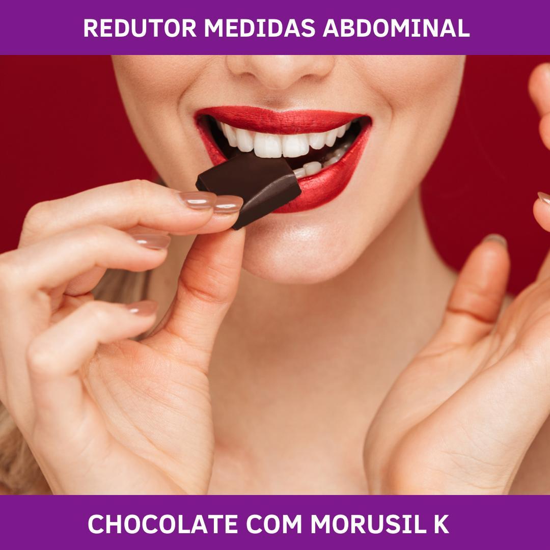 CHOCOLATE COM MORUSIL K - REDUTOR MEDIDAS ABDOMINAL