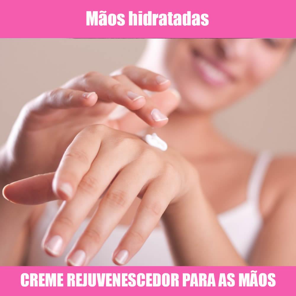 CREME REJUVENESCEDOR PARA AS MÃOS - 30G