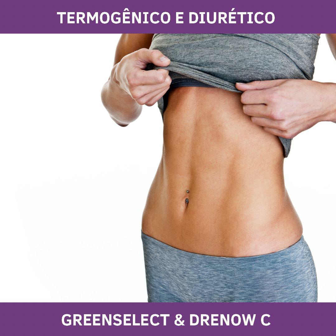 GREENSELECT & DRENOW C - TERMOGENICO E DIURÉTICO