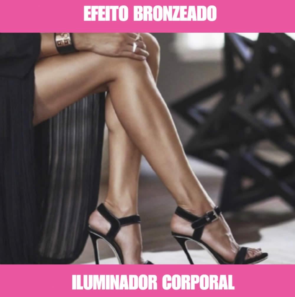 ILUMINADOR CORPORAL - EFEITO BRONZEADO