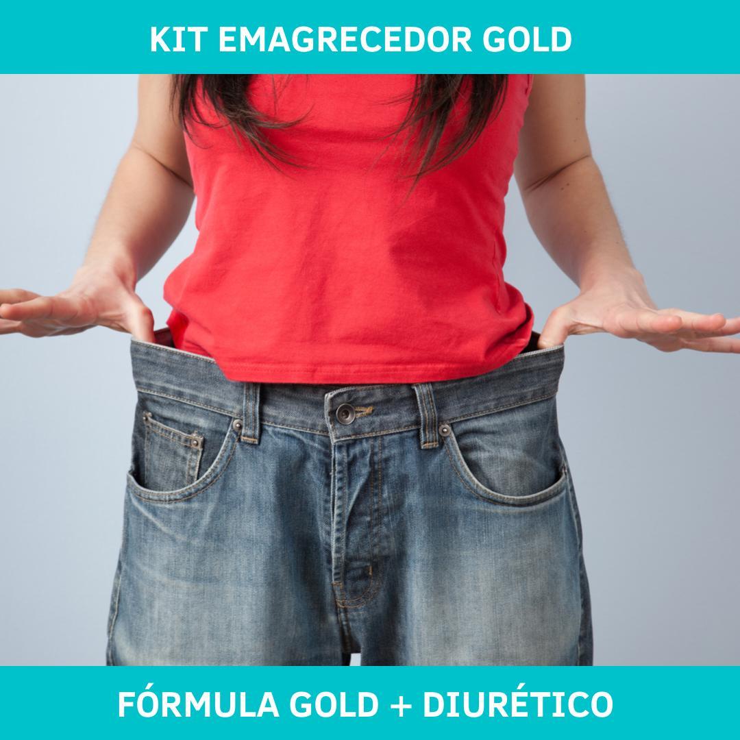 KIT EMAGRECEDOR GOLD