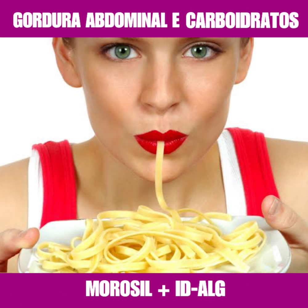 MOROSIL + ID-ALG - EMAGRECEDOR E BLOQUEADOR DE CARBOIDRATOS