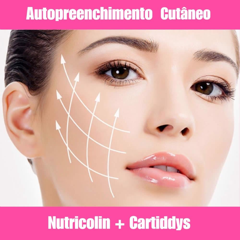 NUTRICOLIN + CARTIDDYS - CABELOS E AUTO PREENCHIMENTO CUTÂNEO