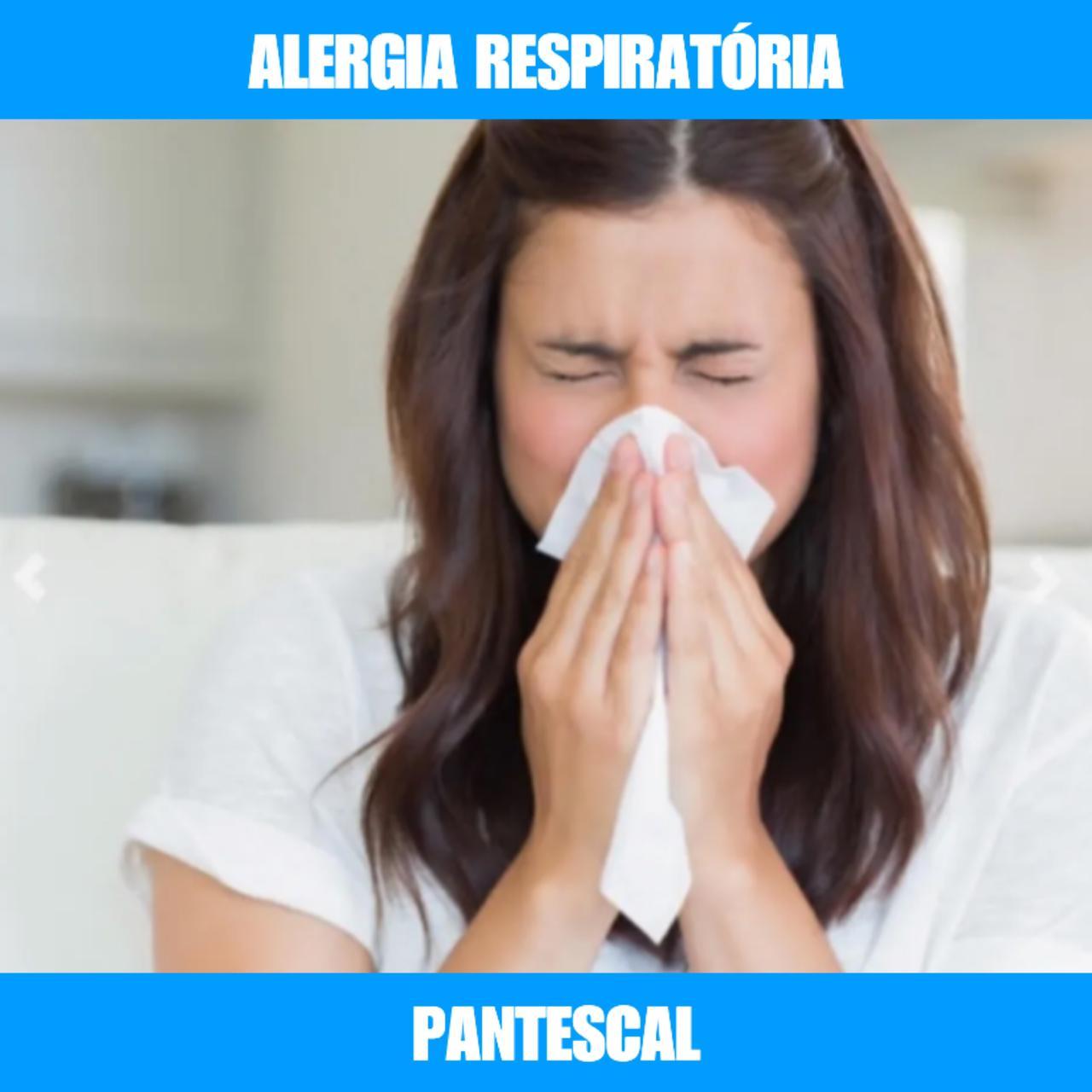 PANTESCAL - ALERGIA RESPIRATÓRIA