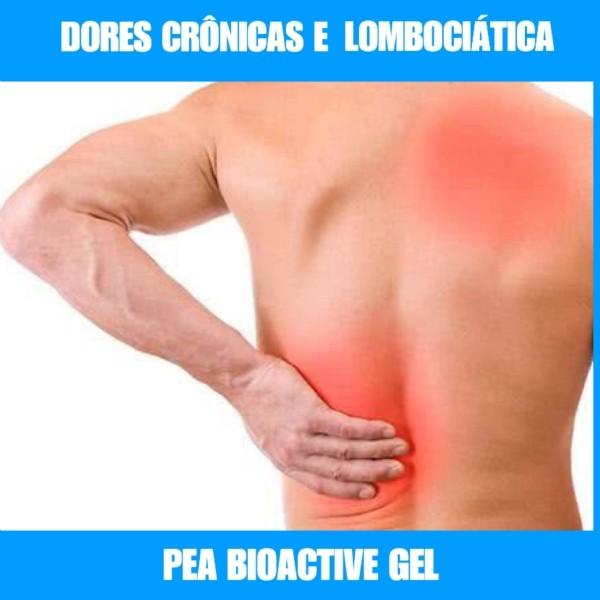 GEL COM PEA BIOACTIVE  - DORES CRÔNICAS E FIBROMIALGIA - 50G