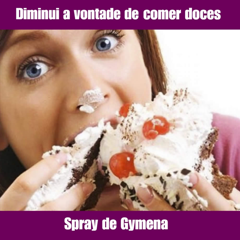 SPRAY DE GYMNENA SILVESTRE - DIMINUI VONTADE DE COMER DOCES