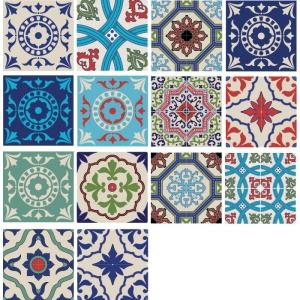 7 Faixas de de Azulejos Venustos 120x15cm
