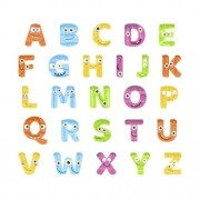 Adesivo Alfabeto Monstros