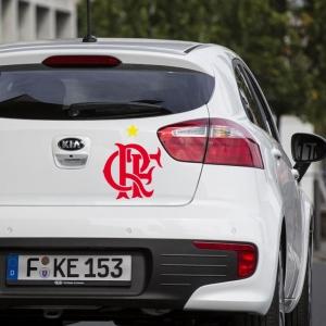 Adesivo de Carro Clube de Regatas do Flamengo
