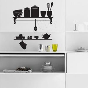 Adesivo de Cozinha Estante