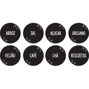 Adesivo de Cozinha Organizadores
