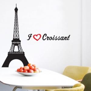Adesivo de Cozinha Paris Croissant