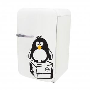 Adesivo de Frigobar Pinguim Congelado