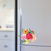 Adesivo de Geladeira Buquê de Flores