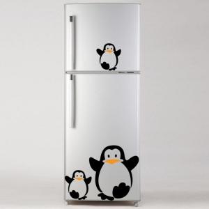 Adesivo de Geladeira Pinguim Filhote