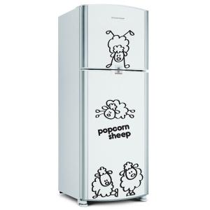 Adesivo de Geladeira Popcorn Sheep