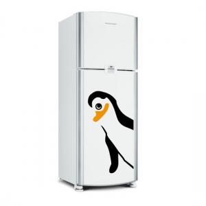 Adesivo de Geladeira Quadrilha Pinguim: Meliante 03