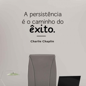 Adesivo de Parede a Persistência é o Caminho