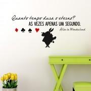 Adesivo de Parede Alice in Wonderland