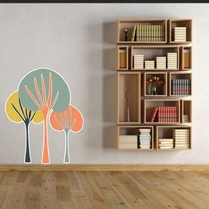 Adesivo de Parede Árvores
