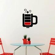 Adesivo de Parede Ausência de Café