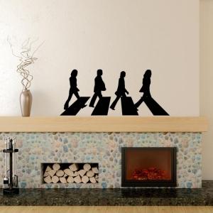 Adesivo de Parede Beatles Abbey Road